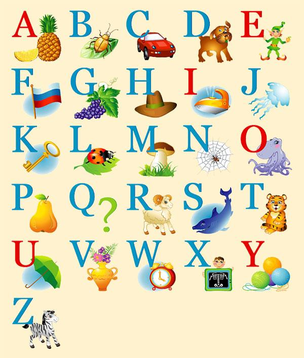 Английский алфавит книжка малышка своими руками